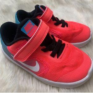 Nike Toddler Revolution 3 Running Shoe, sz 7C